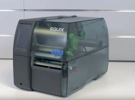 CAB SQUIX 4 LabelPrinter with the fast processor-BYPOS-50004