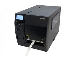 Toshiba B-EX4T3-HS12-QM-R -TT, 600dpi, Flat Head, USB, LAN, RS232