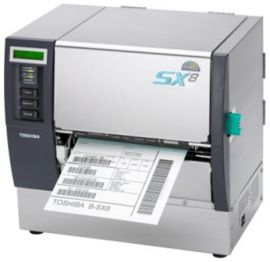 Toshiba B-SX8T-TS12-QM-R - TT, 305dpi, Parallel, USB, LAN, Ribbon-optimizer